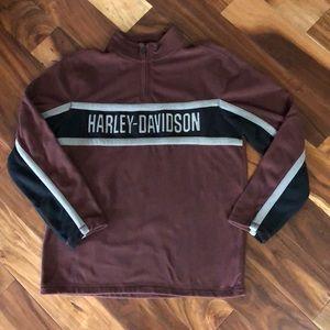Harley Davidson Fleece Pullover